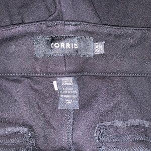 Torrid Black Dress Pants X Long length